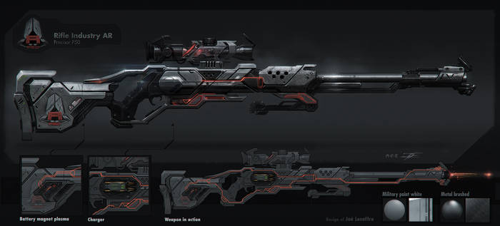 Rifle Industry AR precisor P50