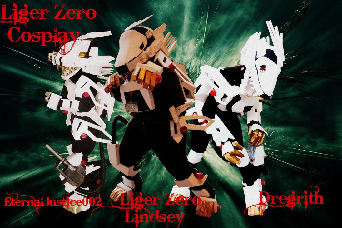 Liger Zero Cosplay Wallpaper by LigerZeroLindsey