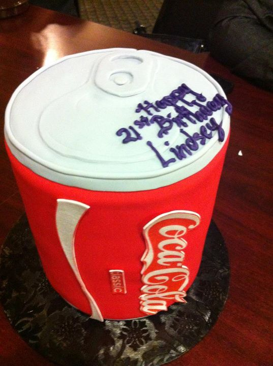 21st Birthday Cake Coca Cola Can By Ligerzerolindsey On Deviantart