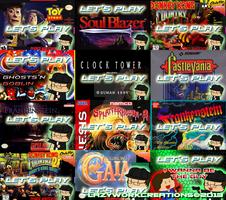 Let's Play Titlecard Portfolio Set 01