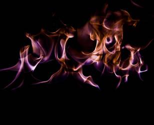 Burning petrol by MolefaceNZ