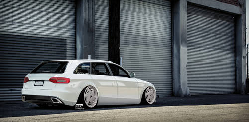 Bagged Audi A4