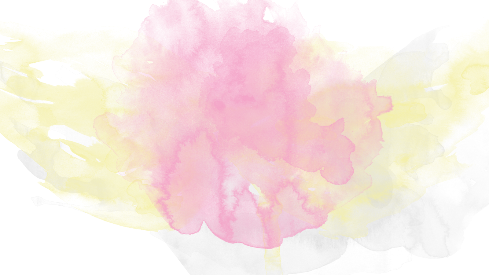 pink and yellow watercolor background by sayakime on