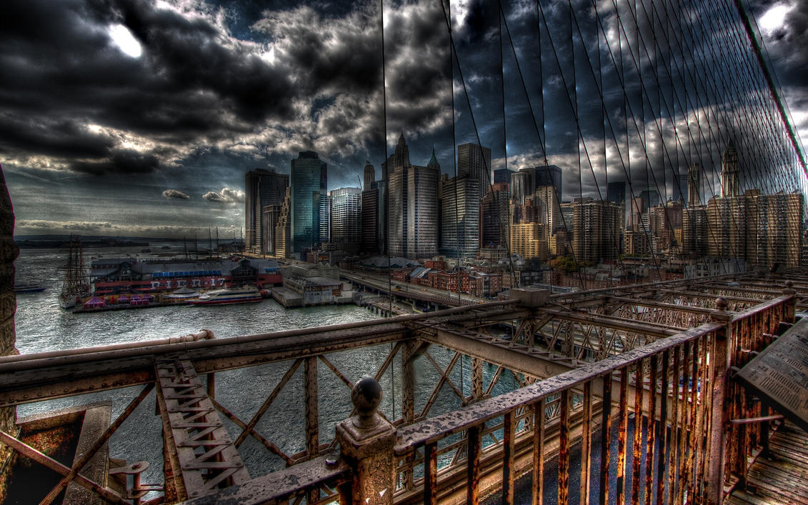 Brooklyn's Doomsday HDR by Calzinger