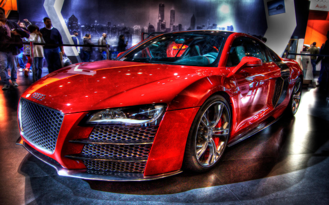 Audi R8r HDR by Calzinger