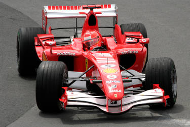 F1 Friday: M. Schumacher by Calzinger