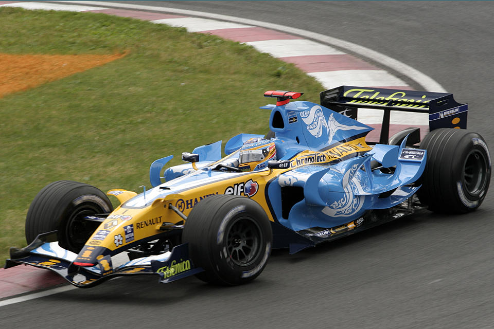 F1 Friday: Fernando Alonso by Calzinger