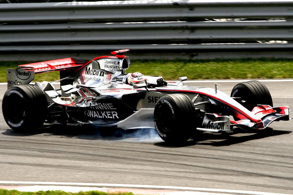 F1 Friday: Kimi Raikkonen III by Calzinger