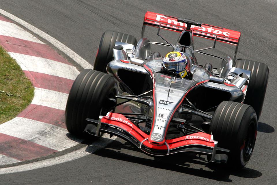 F1 Saturday: J.P. Montoya by Calzinger