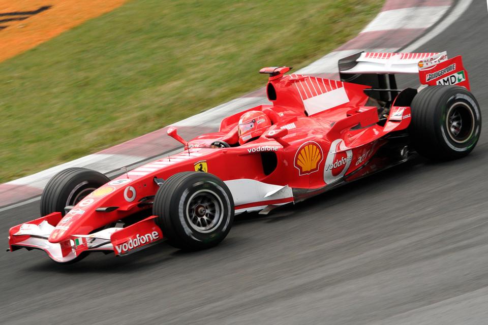 F1 Saturday: M. Schumacher II by Calzinger