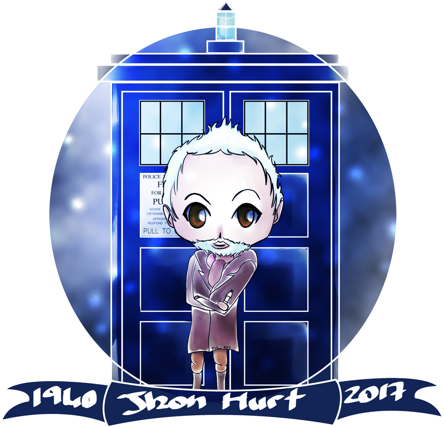 Chibi: Tribute to Jhon Hurt by Delew