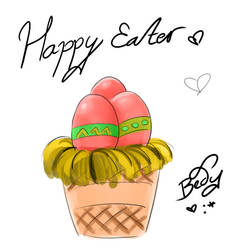 Happy Easter!!! by Delew