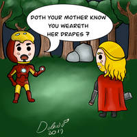 Thor and Ironman