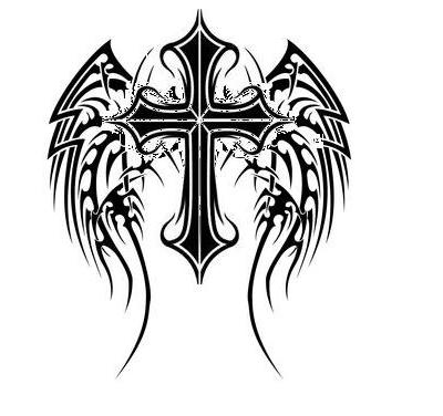 Cross with Angel Wings by AJ-Kidman on DeviantArt