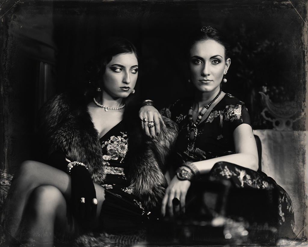 Two girls by AurimasValevicius
