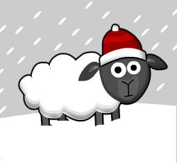 Christmas Sheep by The-Adamski