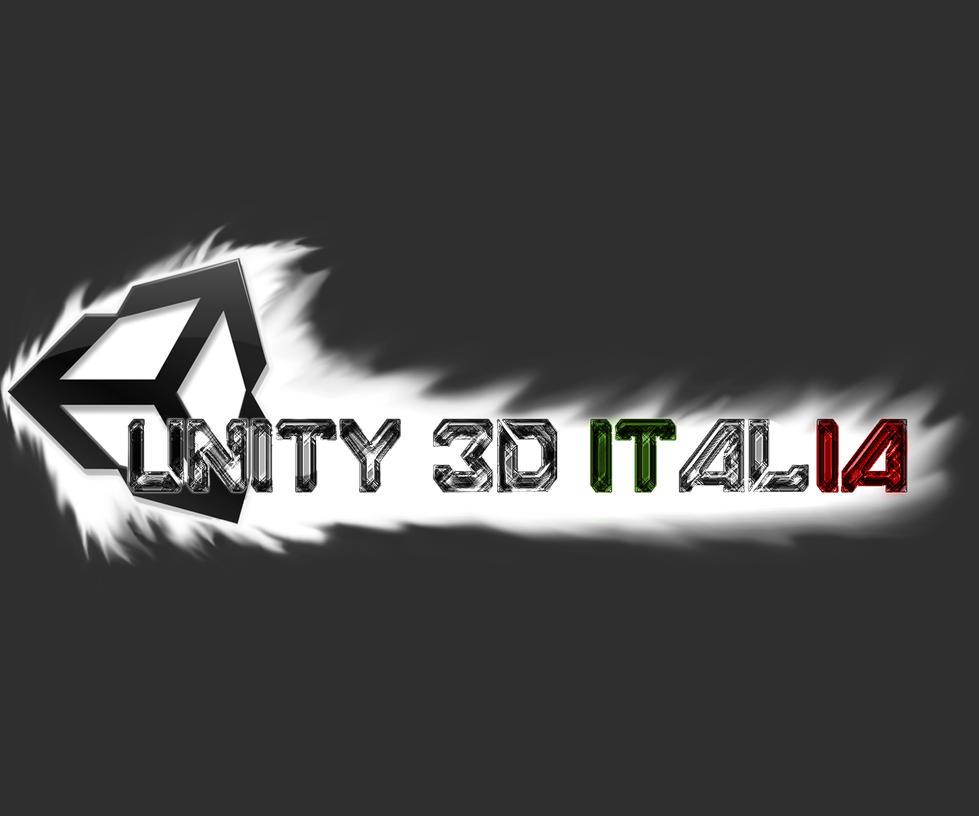 unity 3d italia logo by dragonslayer639 on deviantart