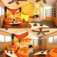 Funky orange by zeravla