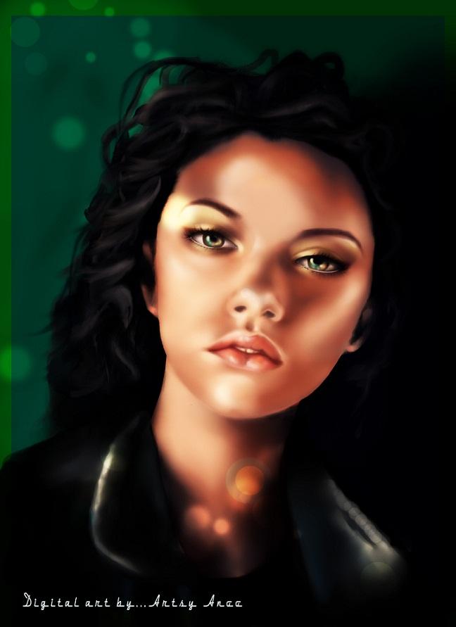 Portrait. by Adaraalayna