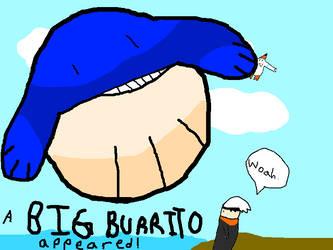 A BIG BURRITO Appeared! by PichiPichu