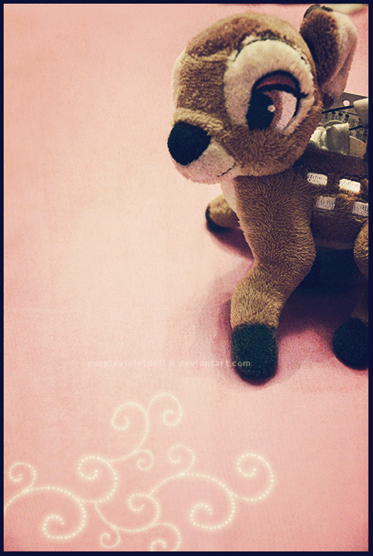 Bambi Makes Me Happy by purplevioletdoll