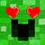 Creeper in love by Bluuberwolf