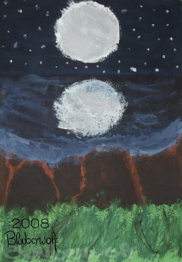 Cielo nocturno by Bluuberwolf