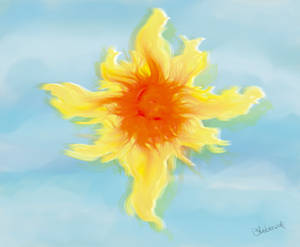 Sol de fuego