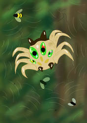 The adorable and dangerous little spider