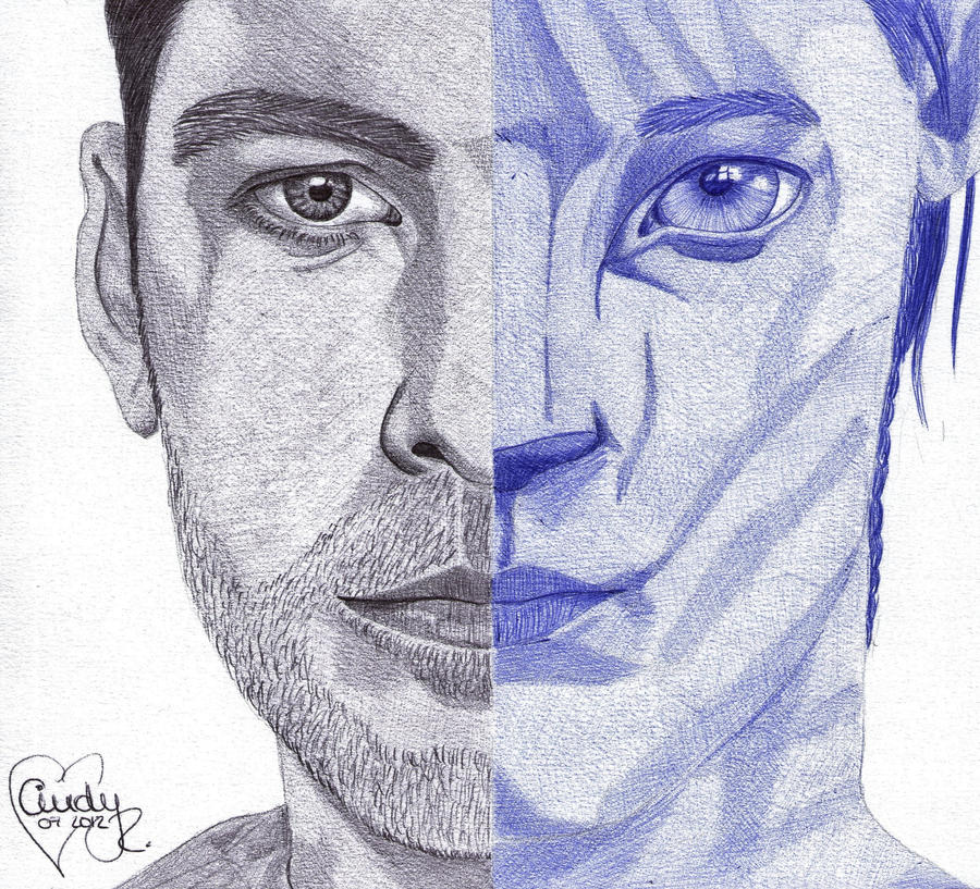 Avatar Movie Drawings: Jake Sully By Cindy-R On DeviantArt