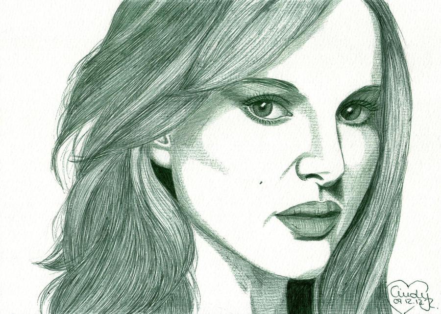 Natalie Portman by Cindy-R