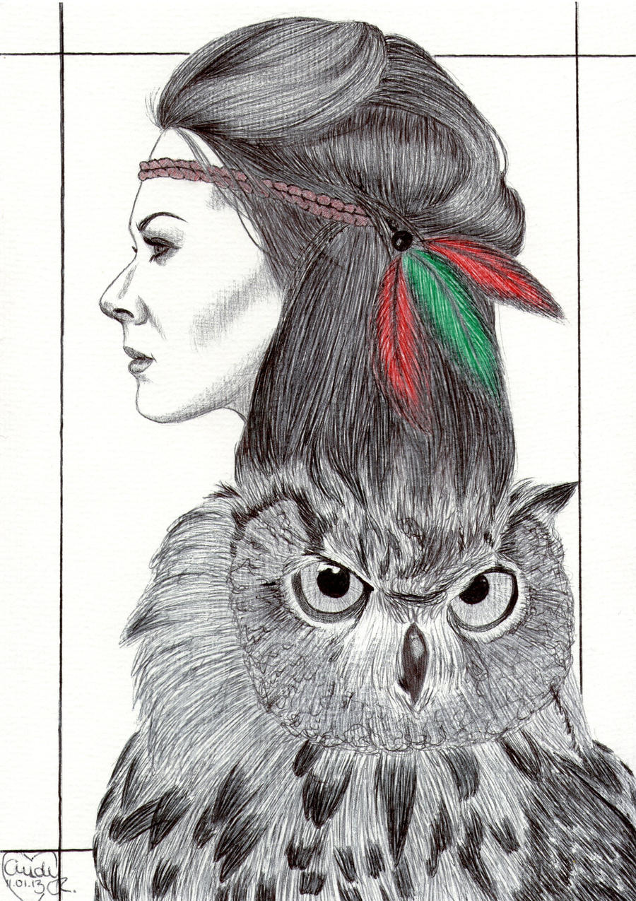 Owl-Woman by Cindy-R