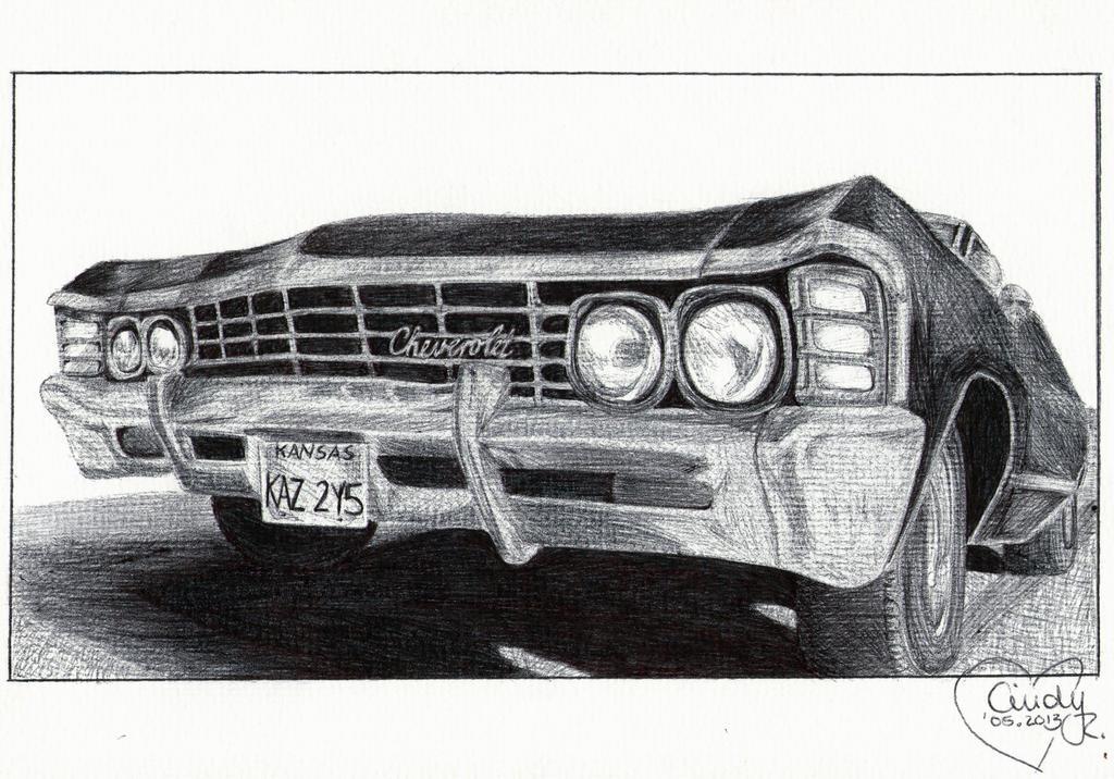 Ballpoint Impala by Cindy-R