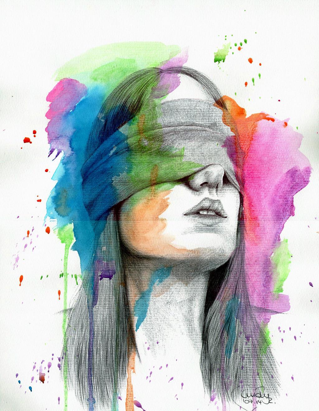 Sightless Beauty by Cindy-R