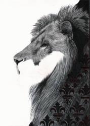 Ballpen Lion WIP II