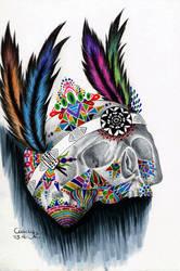 Coloful Skull