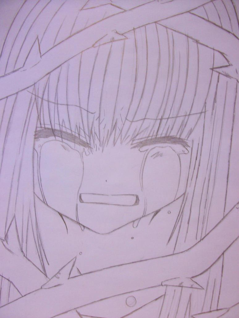 crying anime girl by nayuki910 on DeviantArt