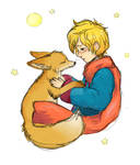 So the little prince tamed the fox.