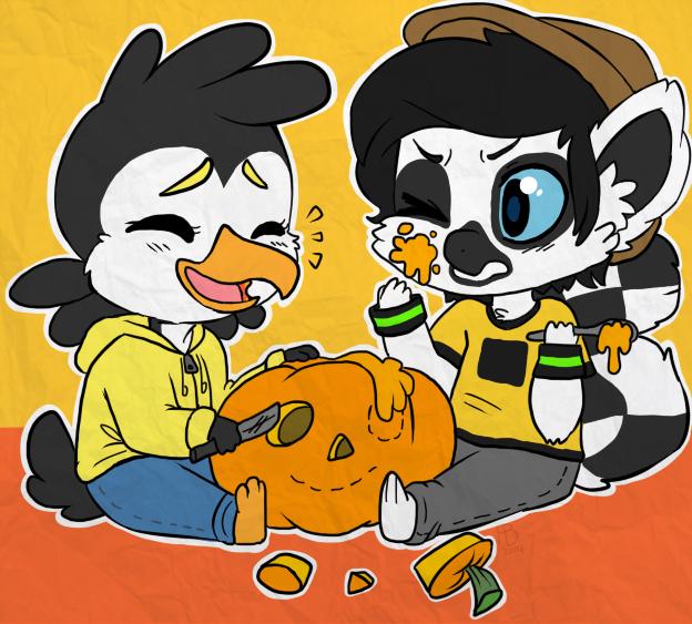 Pumpkin Carving by nayuki910