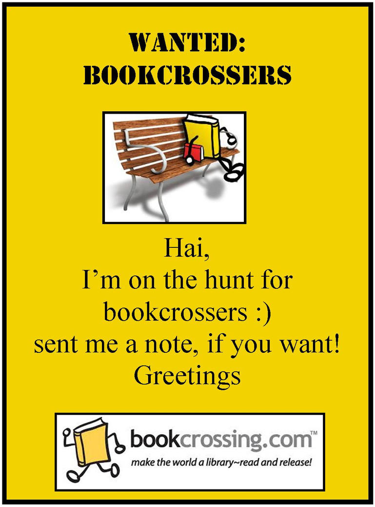 Bookcrossing by Anna-M-H