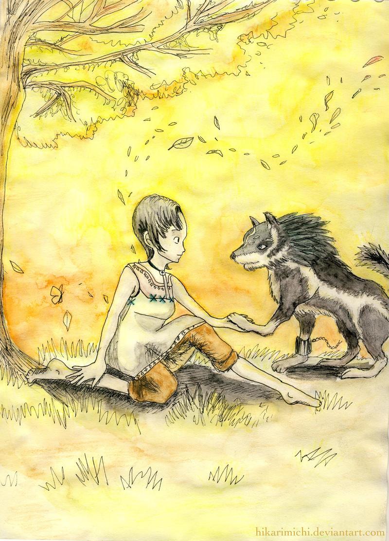 Link and Ilia: Forgiveness by HikariMichi