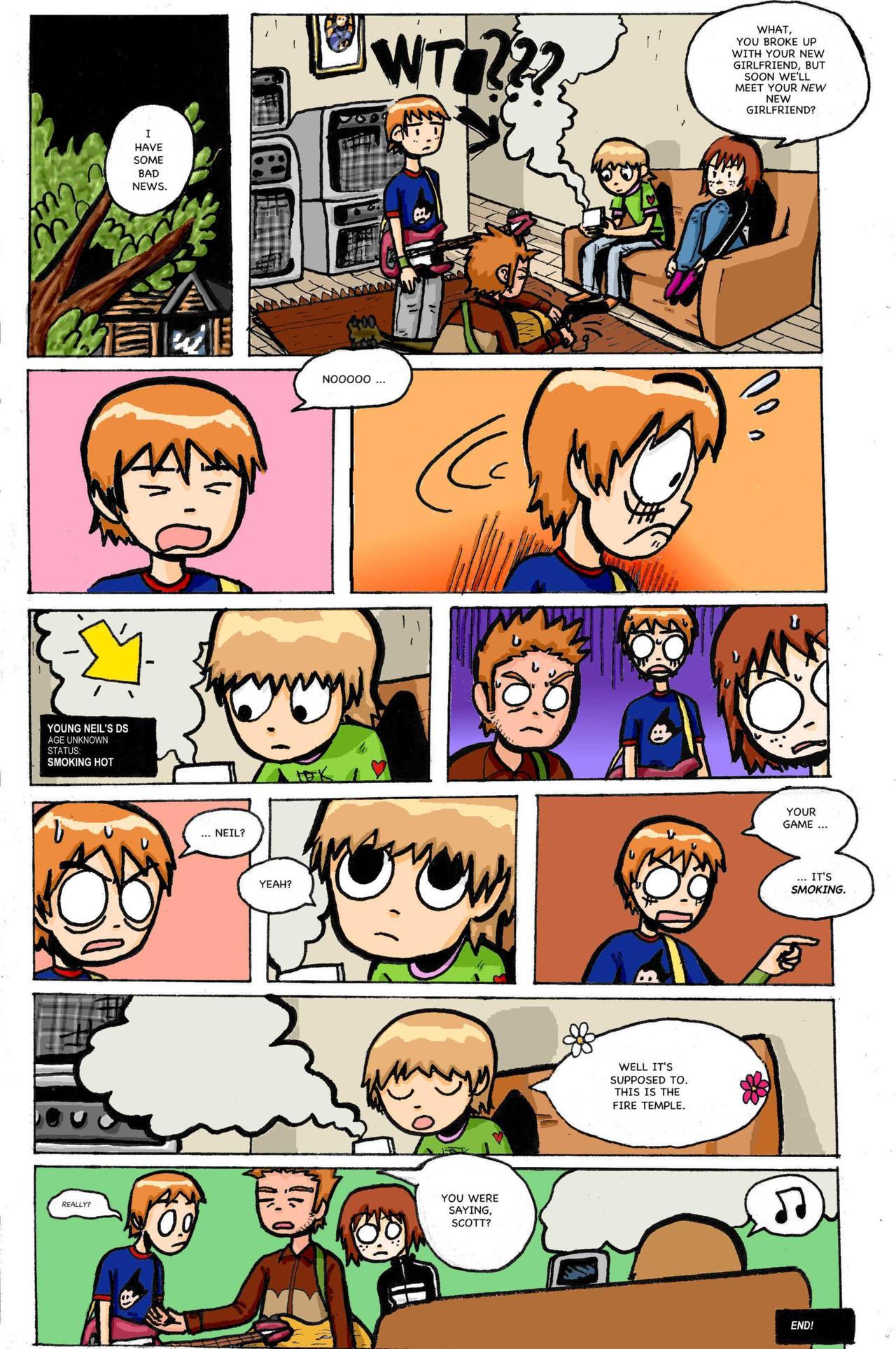 Comic Strips or Pages on Scott-Pilgrim-PLFC - DeviantArt