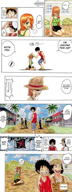 Luffy's Shanks moment