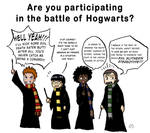 The Houses During the Battle of Hogwarts
