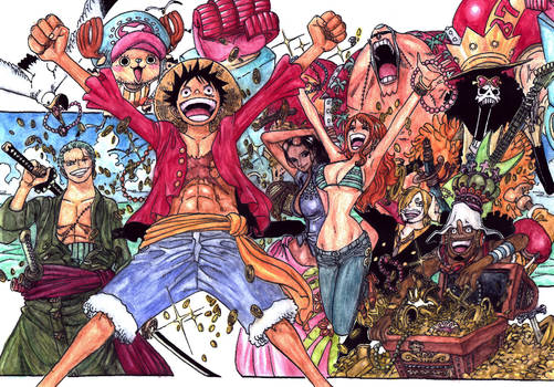 One Piece - 2 years later (MY COLOURING)