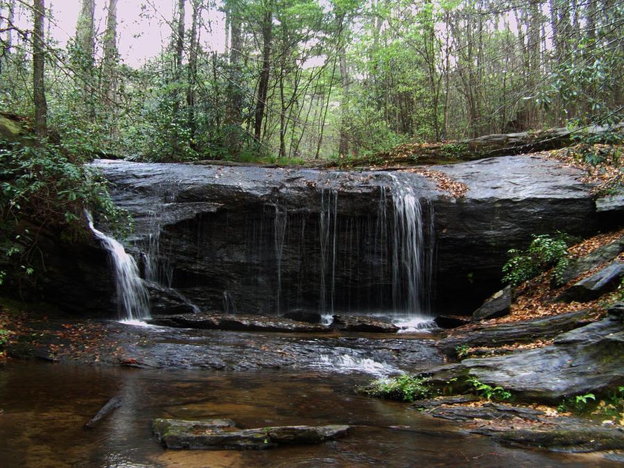 Waterfall 6 by AlissaDStock