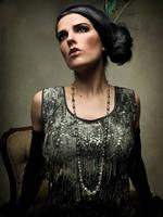 Flapper dress by kambriel by vampireleniore