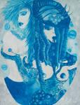 Lesbian Zodiac: Aquarius by vampireleniore
