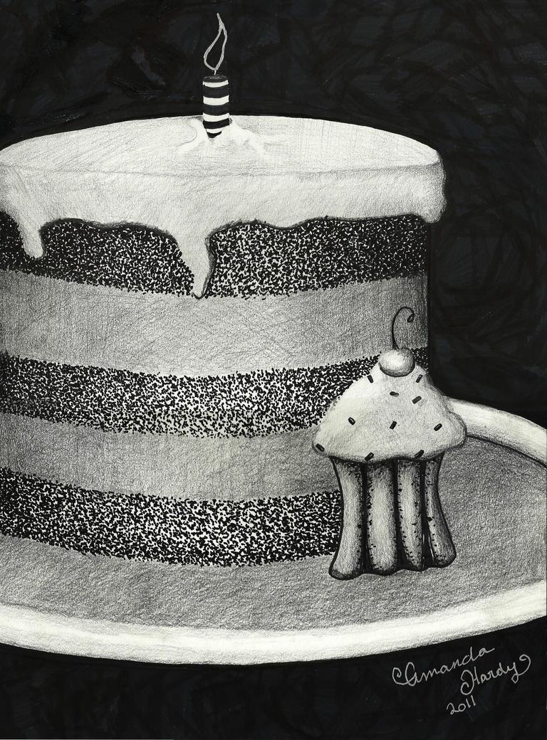 Le Cake Artist : Birthday Cake by vampireleniore on DeviantArt