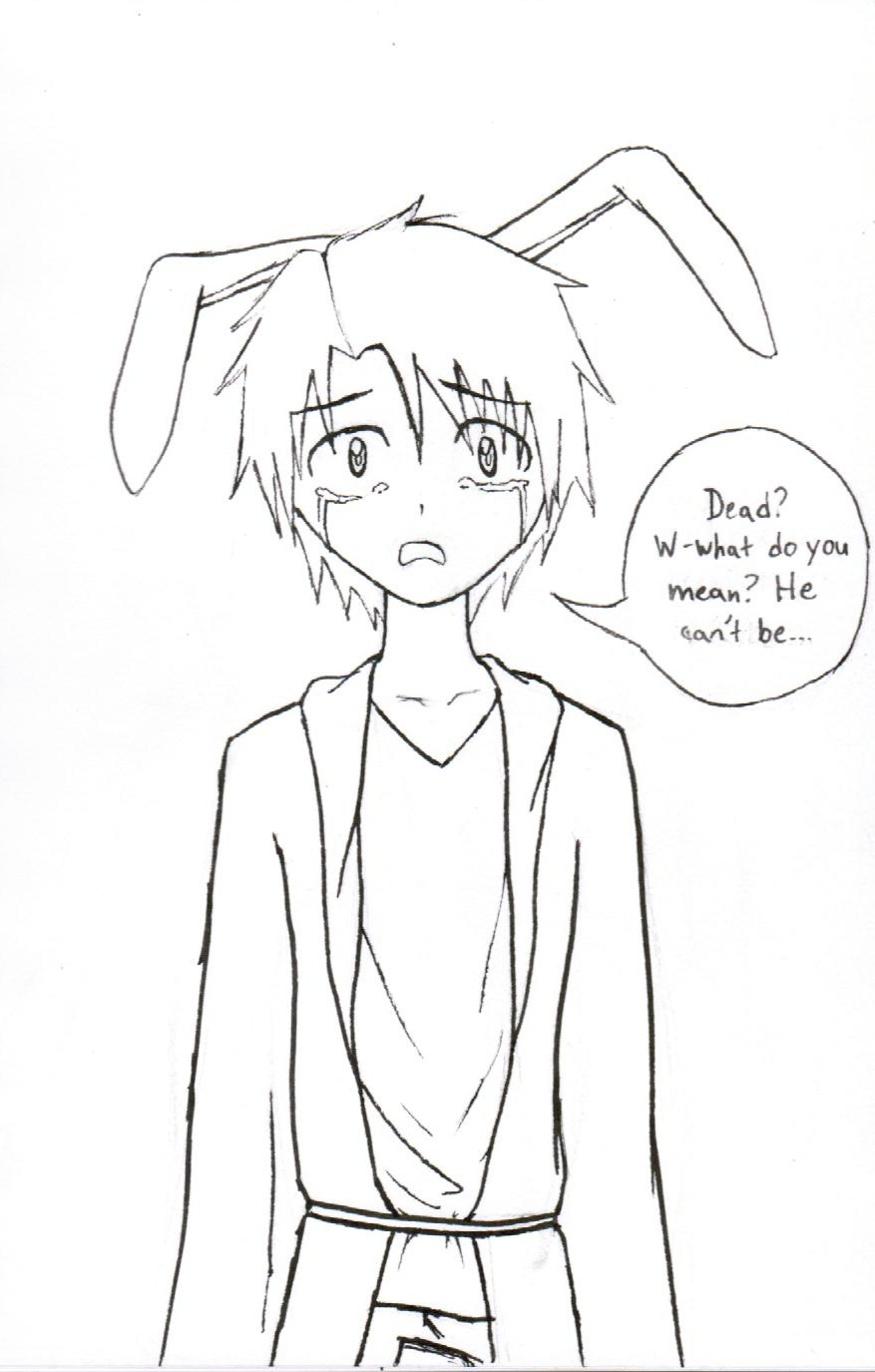 anime bunny coloring pages - photo#33